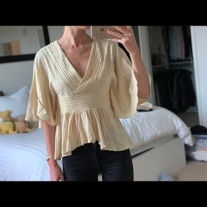 Never worn Lucky Brand blouse